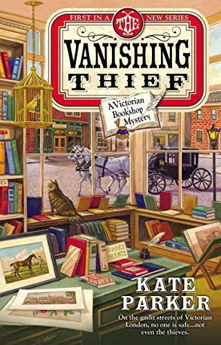 The Vanishing Thief (Victorian Bookshop Mystery)