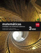 Savia, matemáticas orientadas a las enseñanzas académicas, 3 ESO